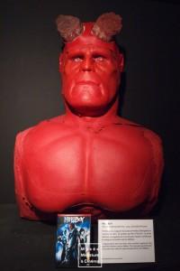 Prothèses portées par Ron Pearlman dans Hellboy