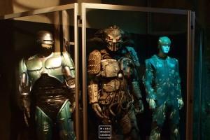 Costumes utilisés dans Robocop, Buffy Contre les Vampires et Minority Report