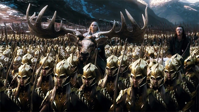 The-Hobbit-The-Battle-of-the-Five-Armies-Lee-Pace-Luke-Evans-Moose