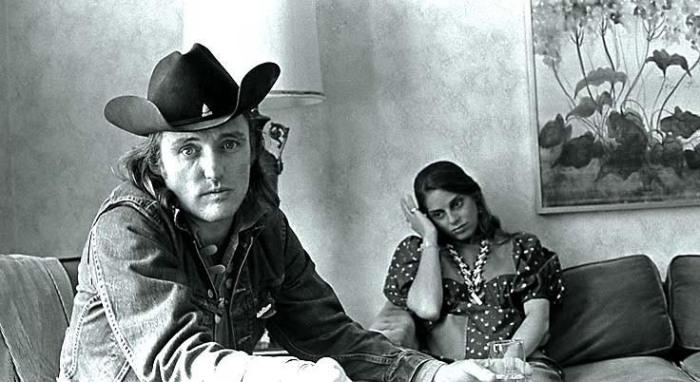 Dennis Hopper and wife Daria Halprin The Jack Tar Hotel San Francisco  The Last Movie  6/72sheet 952
