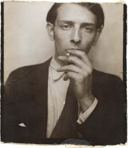 Autoportrait dans un photomaton, 1929