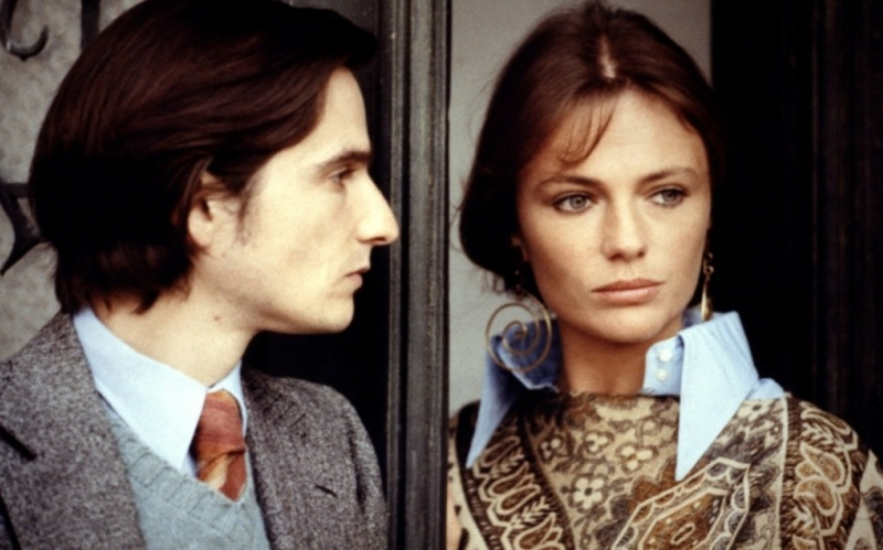 La nuit américaine, Jacqueline Bisset, Jean-Pierre Léaud, 1973